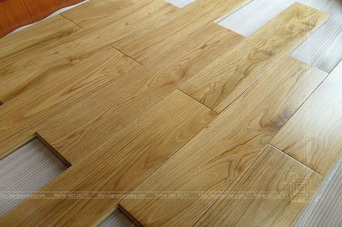 Sàn gỗ Sồi tại Bình Thạnh