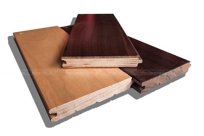 Quá trình sản xuất sàn gỗ Óc chó kỹ thuật