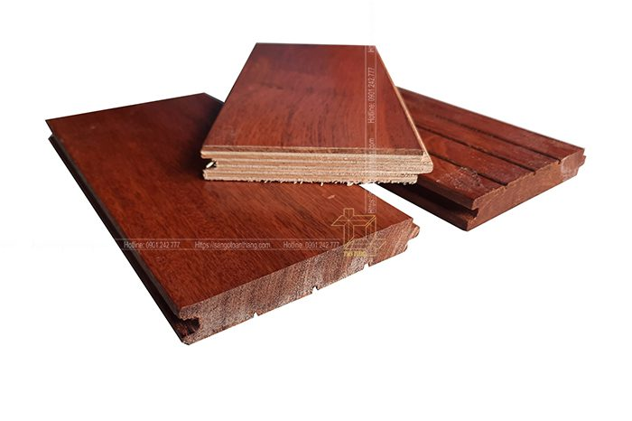 Sàn gỗ Căm xe Kỹ thuật
