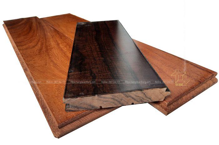 Cấu tạo sàn gỗ Chiu liu tự nhiên