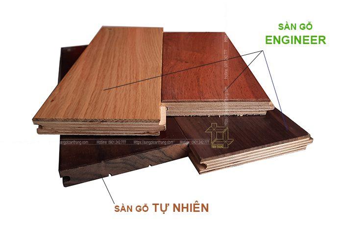 Cấu tạo sàn gỗ Kỹ thuật dùng gỗ plywood