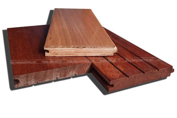 Cấu tạo sàn gỗ Sồi Kỹ Thuật