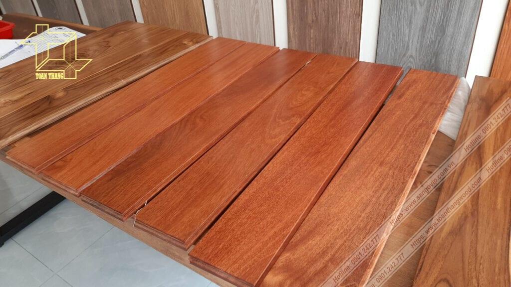 Sàn gỗ Căm xe tại Phú Nhuận