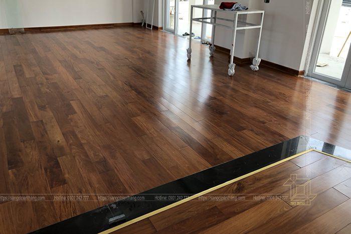 Chất lượng của sàn gỗ Căm xe thì đã được kiểm chứng mấy chục năm nay