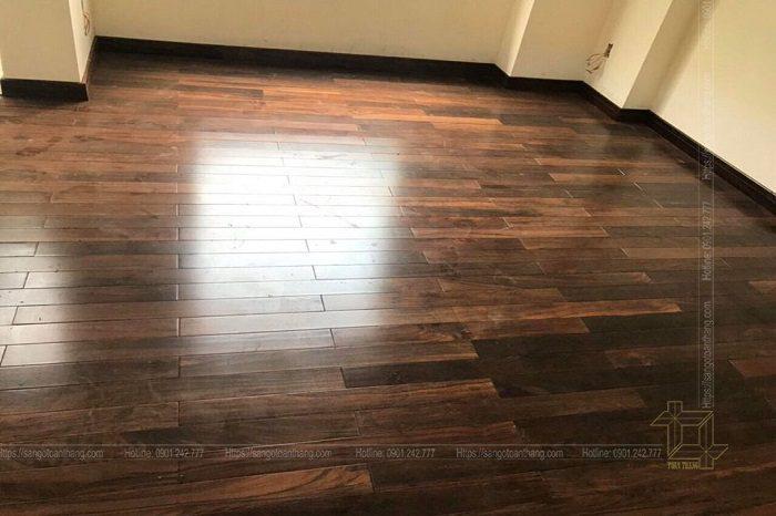 Giá thành sàn gỗ Chiu Liu khá cao nhưng nó hoàn toàn xứng đáng với giá trị nó mang lại