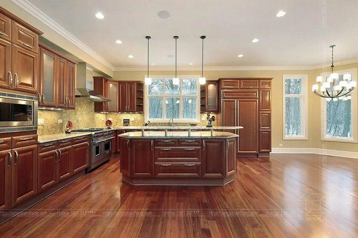 Sàn gỗ công nghiệp cao cấp hiện nay chất lượng không kém sàn gỗ tự nhiên