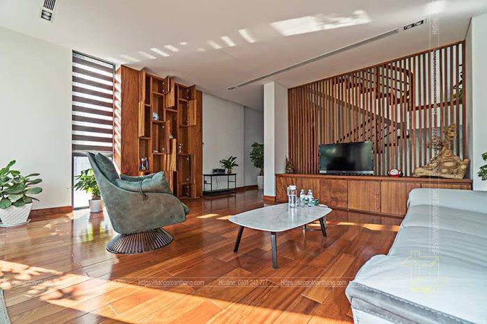 Sàn gỗ Gõ đỏ Nam Phi rất được chuộng tại thị trường Việt Nam