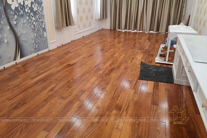 Sàn gỗ gõ đỏ Nam Phi có giá từ 800k/m2