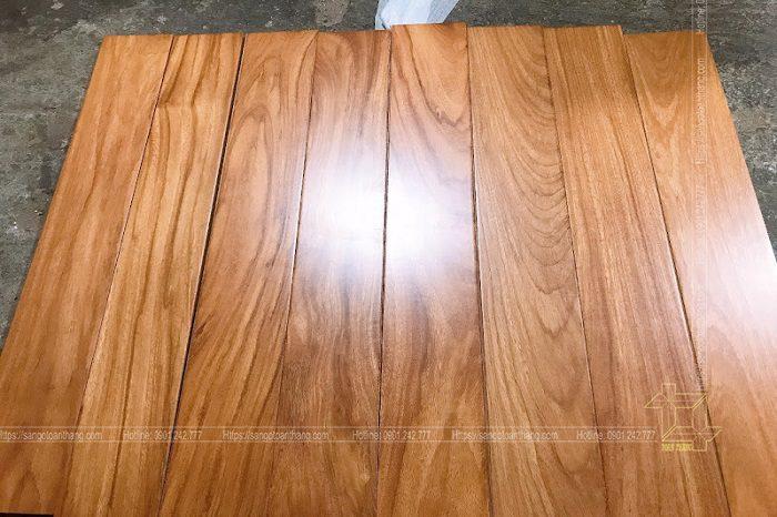 Sàn gỗ Gõ đỏ Tại Quận 7