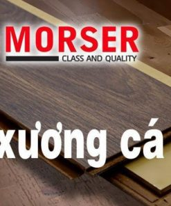 Sàn nhựa Morser 4mm xương cá