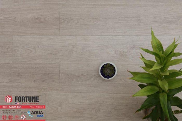 Sàn gỗ Fortune có những tông màu xám trắng đặc trưng