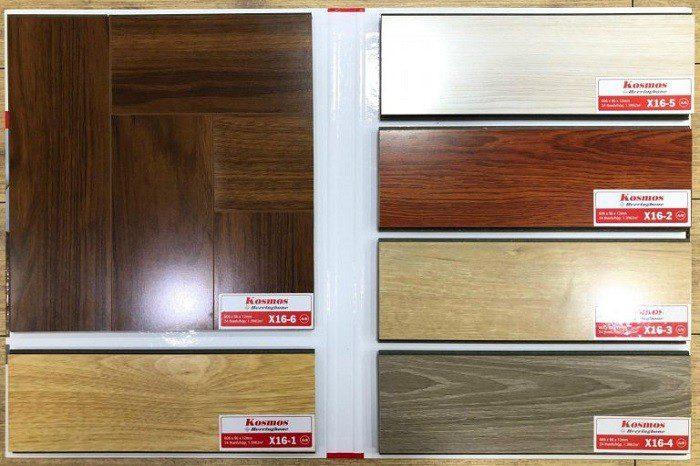 Sàn gỗ công nghiệp Kosmos sản xuất tại Việt Nam
