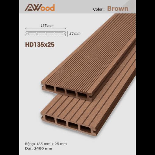 san go AWood HD135x25 Brown
