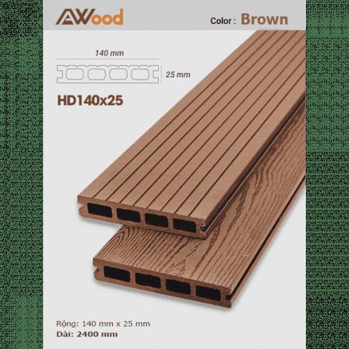 san go AWood HD140x25 Brown