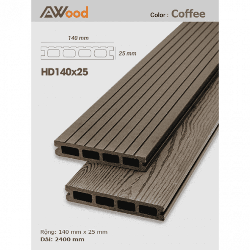 san go AWood HD140x25 coffee