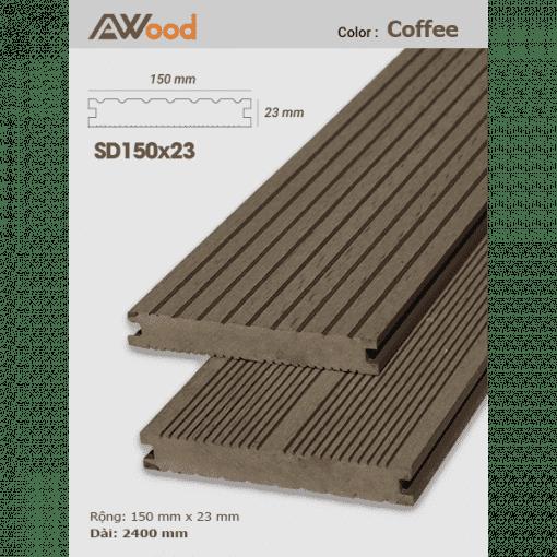 san go AWood SD150x23 Coffee