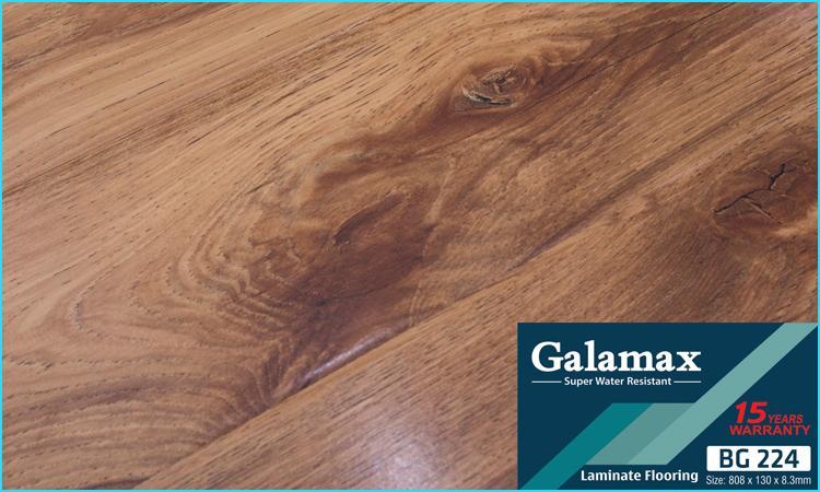 Sàn gỗ Galamax 8mm mặt bóng