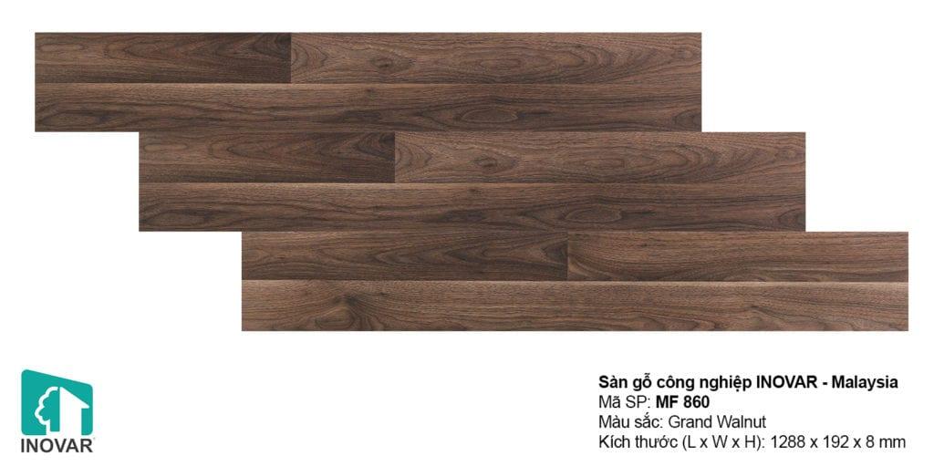 Sàn gỗ malaysia Inovar đa dạng về chủng loại và màu sắc