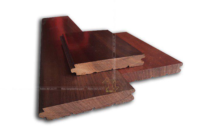 Cấu tạo sàn gỗ tự nhiên Óc Chó