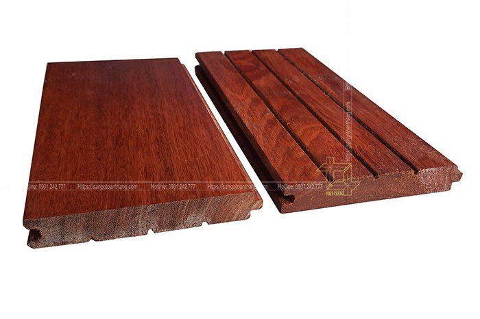 Cấu tạo của sàn gỗ căm xe