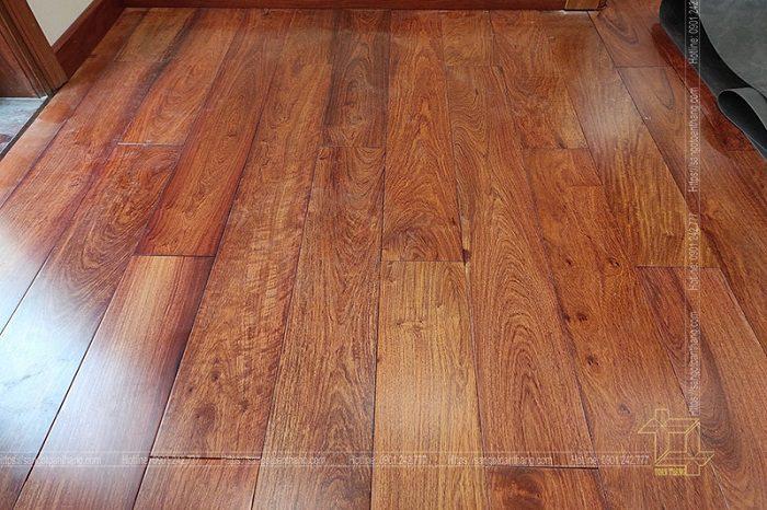 Sàn gỗ Giáng Hương độ thẩm mỹ số 1 trên thị trường