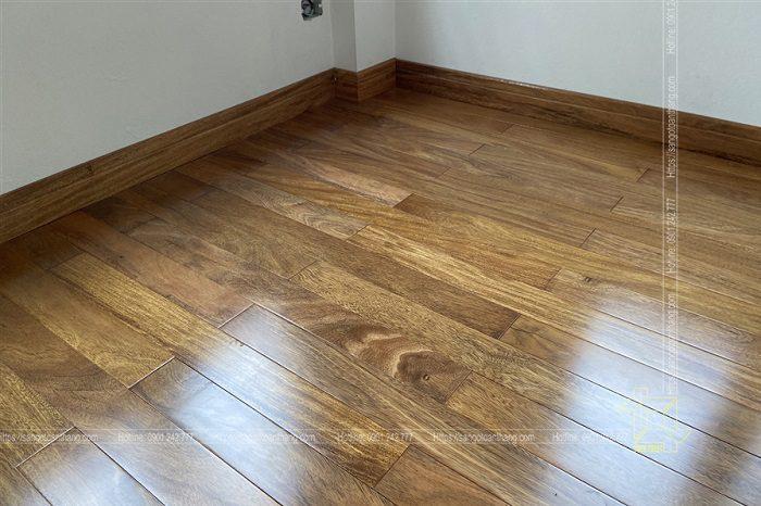 Sàn gỗ tự nhiên Lim Nam Phi đẹp không kém gì Lim trong nước