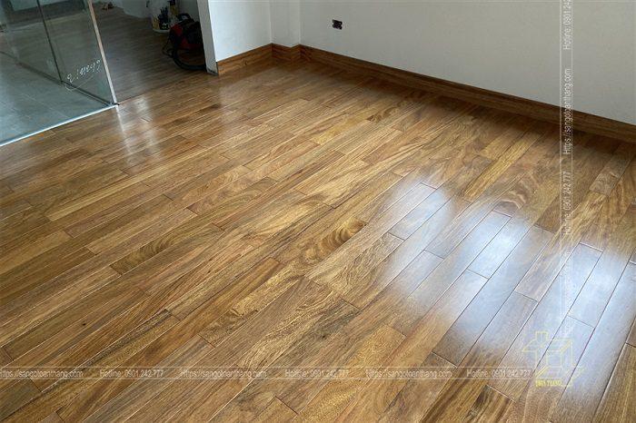 Sàn gỗ Lim được sử dụng nhiều ở miền Bắc Việt Nam