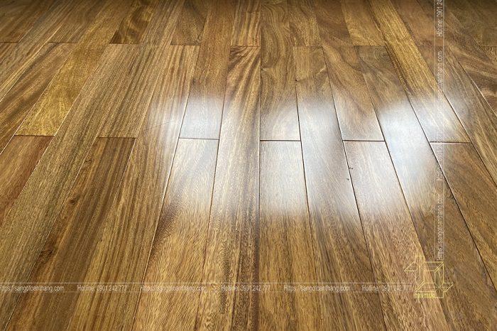 Sàn gỗ Lim Xanh rất sang trọng