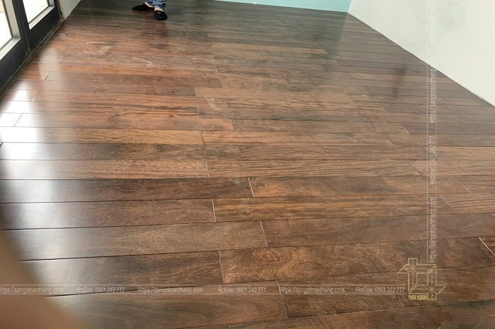 Chuẩn bị nguyên liệu trước khi sản xuất sàn gỗ