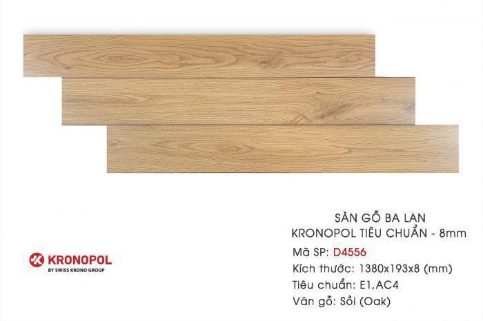Sàn gỗ Kronopol chịu nước