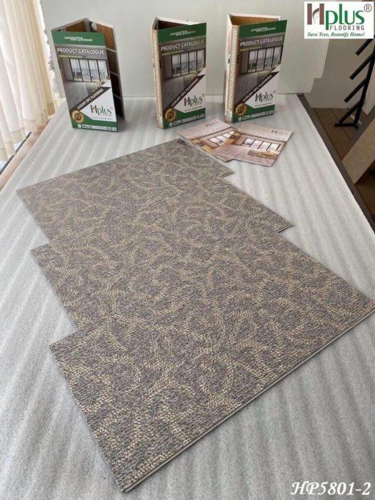 Sàn nhựa Hplus vân thảm (vải)