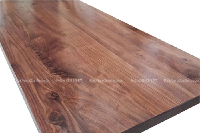 Vân gỗ Óc chó tạo nét hoa văn rất đẹp