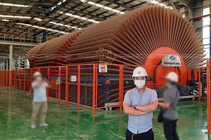 Ban quản trị Toàn Thắng tại nhà máy sản xuất ván sàn