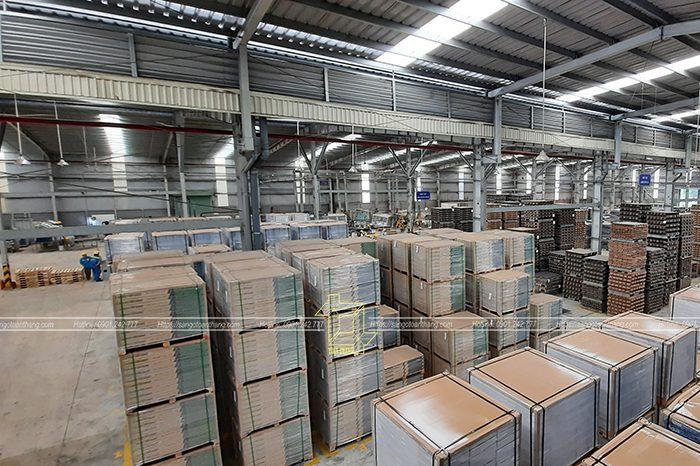 Quy mô nhà máy Sàn gỗ Kim Tín cực kỳ rộng lớn