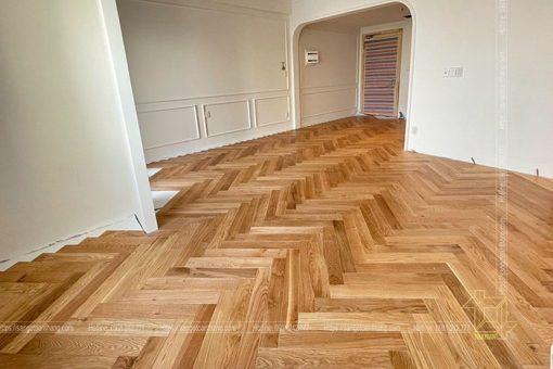 sàn gỗ sồi quận 2