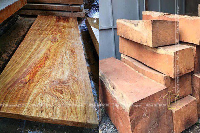 Giá thành gỗ Cà te phụ thuộc vào đường kính gỗ