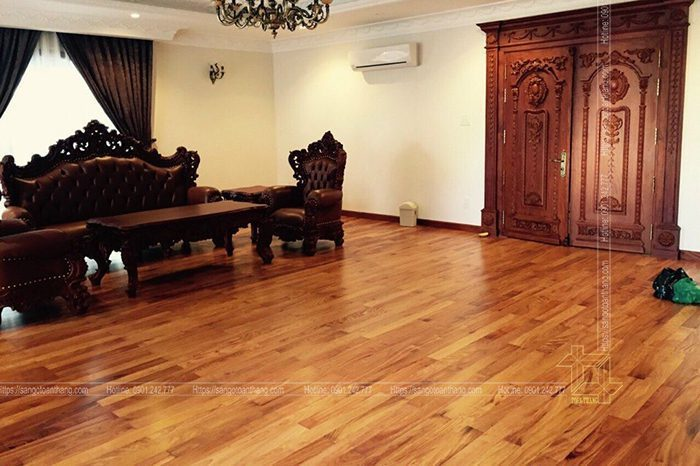 Sàn gỗ kỹ thuật Gõ đỏ