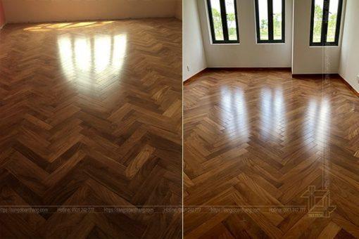 báo giá sàn gỗ gõ đỏ hết sức hợp lý với giá  trị nó mang lại
