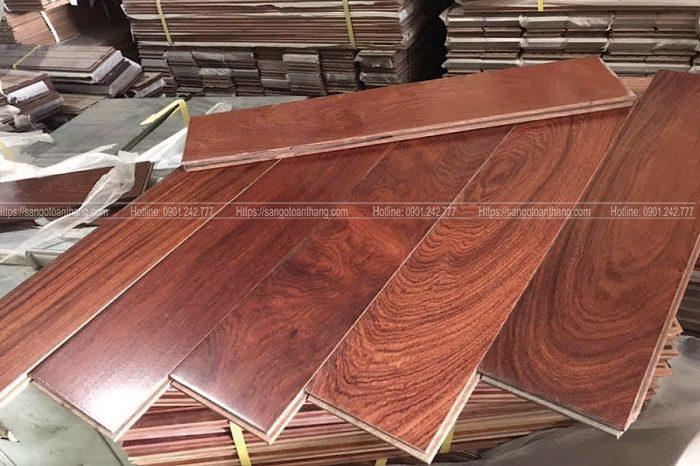 giá sàn gỗ giáng hương rất xứng đáng với giá trị nó mang lại