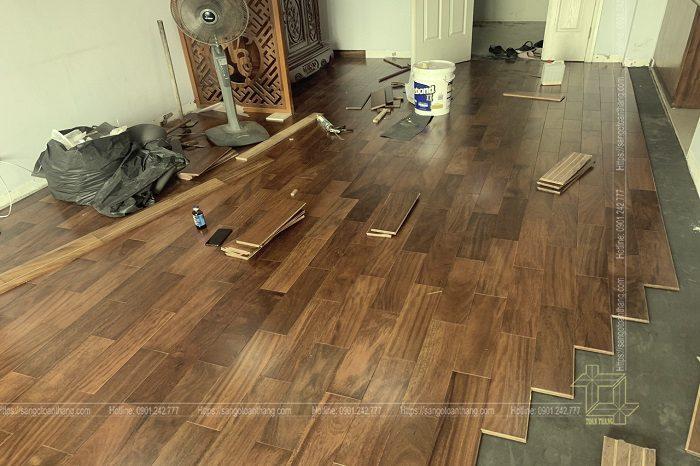 Sàn gỗ Lim rất đẹp