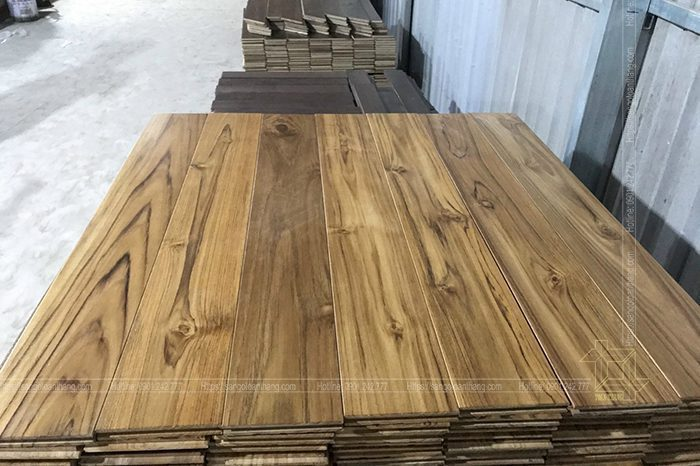 Giá sàn gỗ teak rất hợp lý mà giá trị nó mang lại