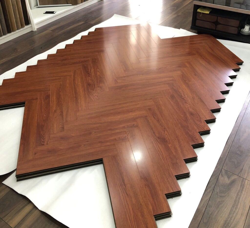sàn gỗ công nghiệp xương cá Kosmos