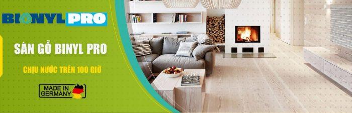 Sàn gỗ đạt chuẩn Châu Âu