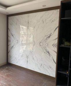 Ốp tường bằng tấm PVC Vân Đá