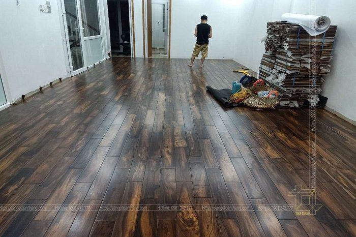Sàn gỗ muồng đen rất tốt cho sức khỏe con người