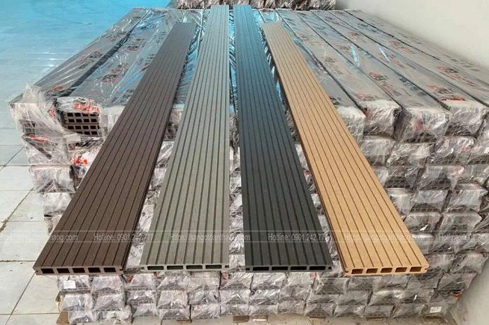 Vật tư sàn nhựa giả gỗ cần tính toán kĩ và hợp lý cho từng công trình