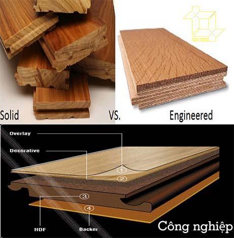 So sánh sàn gỗ engineer và các loại sàn khác