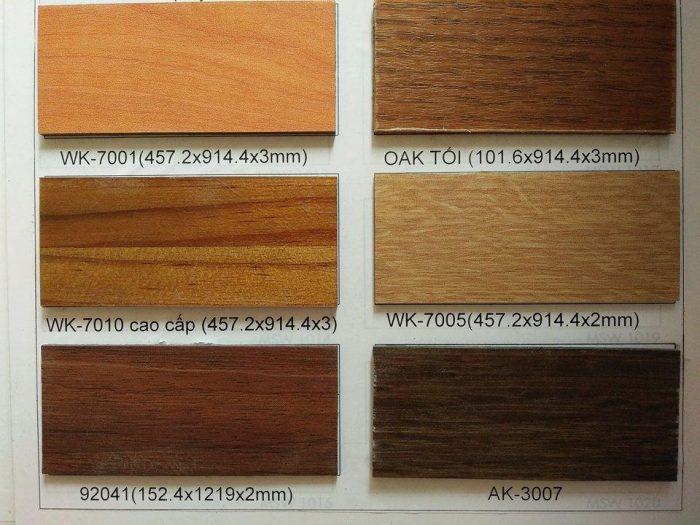 tấm nhựa ốp tường vân gỗ rất nhiều màu sắc để lựa chọn