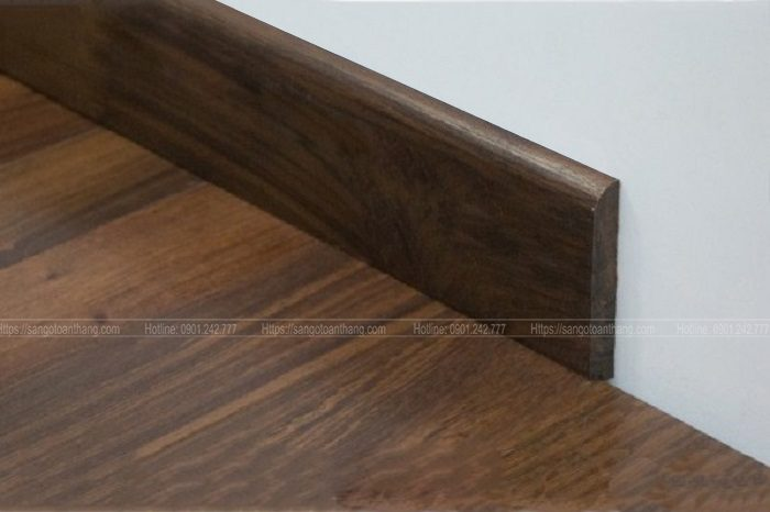 Len chân tường gỗ tự nhiên Chiu liu