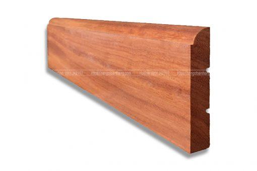 Len chân tường gỗ tự nhiên Gõ đỏ